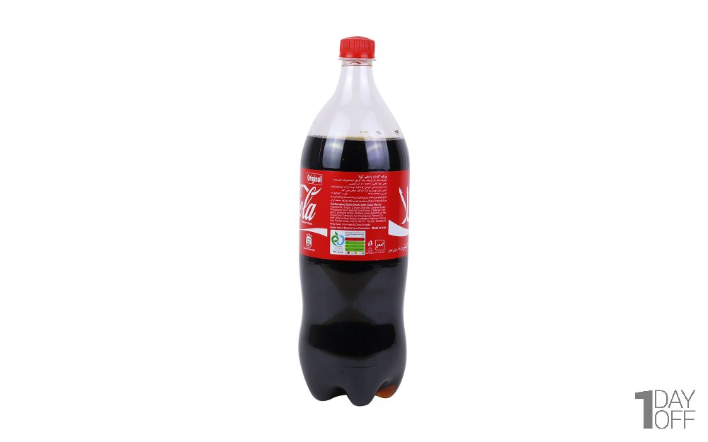 نوشابه کوکاکولا با طعم کولا مقدار 1.5 لیتر